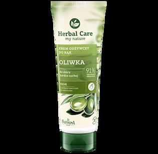 Herbal Care_Oliwka_odżywczy kem do rąk oliwka, 100 ml