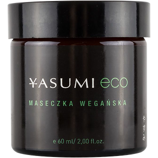 Yasumi_Eco_wegańska maseczka do twarzy, 60 ml