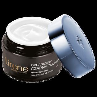 Lirene_Organiczny Czarny Tulipan_krem-maseczka przeciwzmarszczkowa do twarzy na noc 70+, 50 ml_1