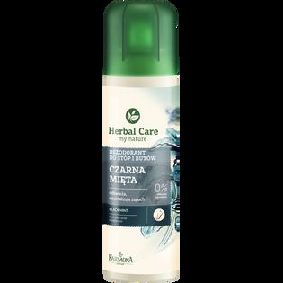 Herbal Care_Czarna Mięta_dezodorant do stóp i butów, 150 ml