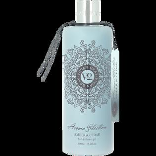 Vivian Gray_Aroma Selection Amber & Cedar_pachnący żel do kąpieli i pod prysznic, 500 ml