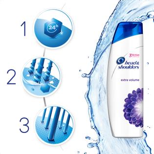 Head & Shoulders_Extra Long Product Title_przeciwłupieżowy szampon do włosów zwiększający objętość, 400 ml_4