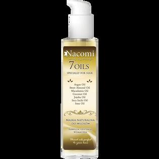 Nacomi_7 Oils_maska do olejowania włosów, 100 ml