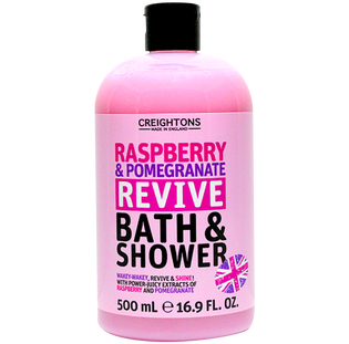 Creightons_Malina & Granat_orzeźwiający żel do kąpieli i pod prysznic, 500 ml