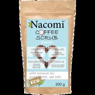 Nacomi_Kokos_suchy kawowy peeling do ciała, 200 g