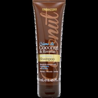Creightons_Kokos & Keratyna_nawilżająco odżywczy szampon do włosów, 250 ml