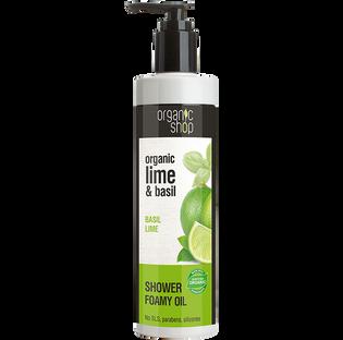Organic Shop_Basil Lime_olejek pod prysznic, 280 ml