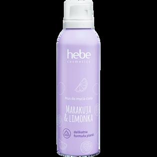 Hebe Cosmetics_Marakuja & Limonka_mus do mycia ciała, 200 ml_1
