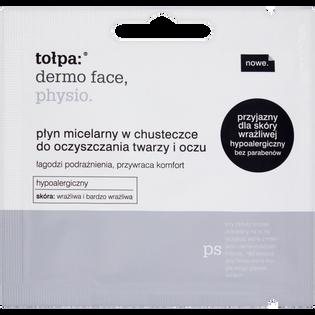 Tołpa_Dermo Face Physio_płyn micelarny w chusteczce do oczyszczania twarzy i oczu, 1 szt.