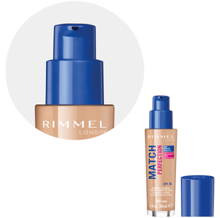 Rimmel_Match Perfection_podkład do twarzy sand 300 SPF20, 30 ml_3