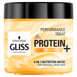 Gliss_Protein Nutrition_odżywiająca maska do włosów z proteinami soi i masłem shea, 400 ml_1