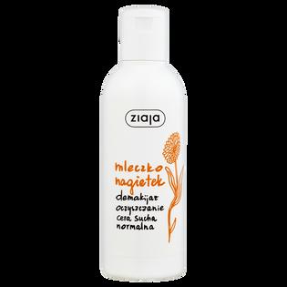 Ziaja_Nagietek_mleczko nagietkowe do twarzy do demakijażu i oczyszczania skóry suchej i normalnej, 200 ml