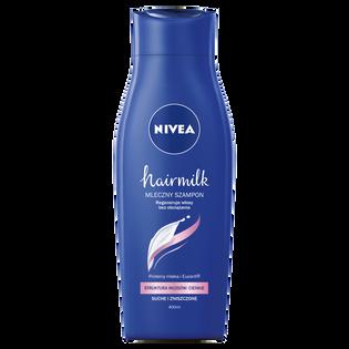 Nivea_Hairmilk_mleczny szampon do włosów cienkich, 400 ml