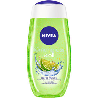 Nivea_Lemongrass & Oil_pielęgnujący żel pod prysznic, 250 ml