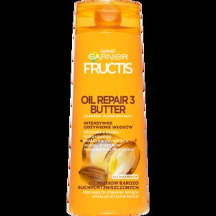 Garnier Fructis_Oil Repair 3 Butter_wzmacniający szampon do włosów bardzo suchych i zniszczonych, 400 ml