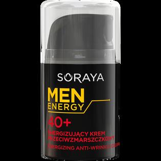 Soraya_Men Energy_energizujący krem przeciwzmarszczkowy do twarzy 40+ męski, 50 ml_1