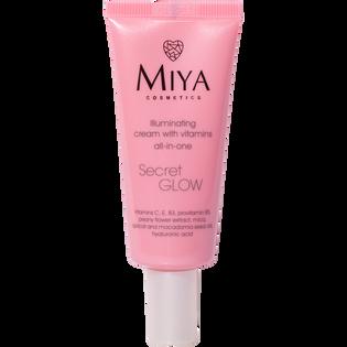 Miya Cosmetics_SecretGlow_rozświetlający krem do twarzy z witaminami, 30 ml_1