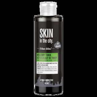 Skin In The City_Urban Detox_węglowy tonik oczyszczający do twarzy, 200 ml