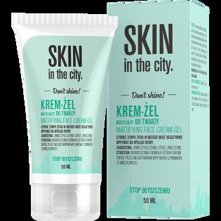 Skin In The City_krem-żel matujący do twarzy, 50 ml