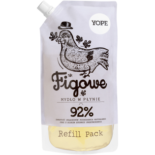 Yope_Figowe_zapas naturalne go mydła w płynie, 500 ml