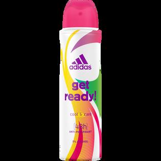 Adidas_Get Ready_antyperspirant damski w sprayu, 150 ml