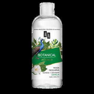 AA_Botanical Essence_woda micelarna do demakijażu twarzy suchej i normalnej, 400 ml