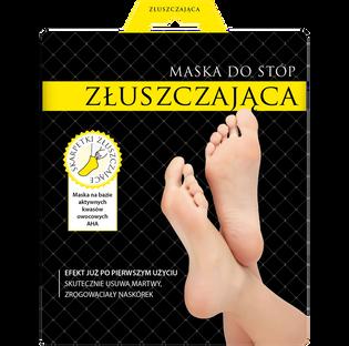 L'Biotica_maseczka złuszczająca do stóp w postaci skarpetek, 40 ml/ 1 para