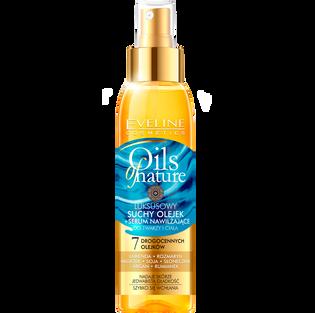Eveline_Oils of Nature_olejek suchy - serum nawilżające do twarzy i ciała, 125 ml