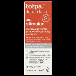 Tołpa_Dermo Face Stimular 40+_ujędrniający krem przeciwzmarszczkowy pod oczy, 10 ml