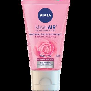Nivea_MicellAIR_żel micelarny do twarzy z wodą różaną, 150 ml
