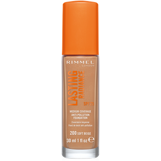 Rimmel_Lasting Radiance_podkład do twarzy soft beige 200 SPF25, 30 ml