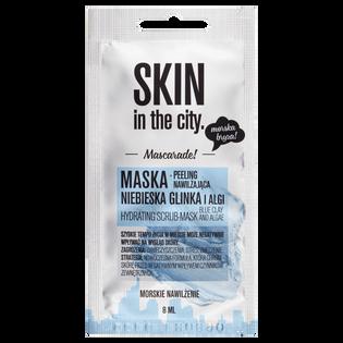Skin In The City_Niebieska glinka i algi_ujędrniająca maska do twarzy, 8 ml