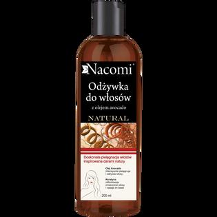 Nacomi_Keratyna & Awokado_odżywka do włosów z keratyną i olejem avocado, 200 ml