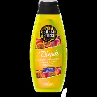 Tutti Frutti_Papaja i tamarillo_regenerujący olejek do kąpieli i pod prysznic, 425 ml