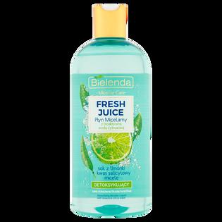 Bielenda_Juicy_płyn micelarny z bioaktywną wodą cytrusową detoksykujący, 500 ml