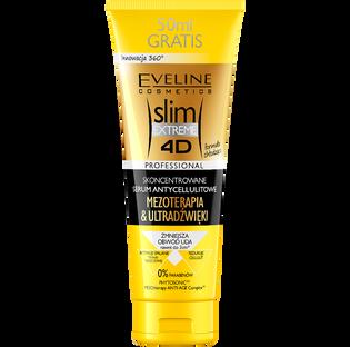 Eveline_Slim Extreme 4D_serum antycellulitowe Mezoterapia & Ultradźwięki, 250 ml