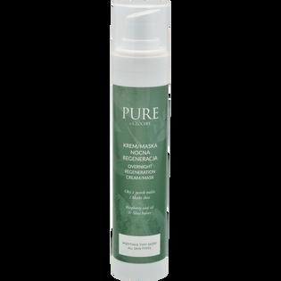 Pure By Clochee_regenerujący krem-maska nocna do twarzy, 50 ml_1
