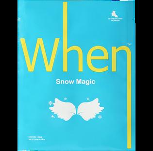 When_Snow Magic_koreańska maska rozświetlająca do twarzy, 23 ml_1