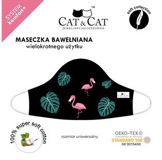Cat&Cat_Flamingi_maseczka ochronna wielorazowa, 1 szt._3