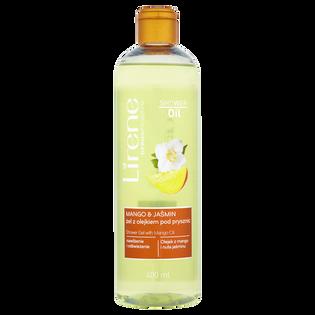 Lirene_Dermoprogram_żel z olejkiem pod prysznic z mango i jaśminem, 400 ml