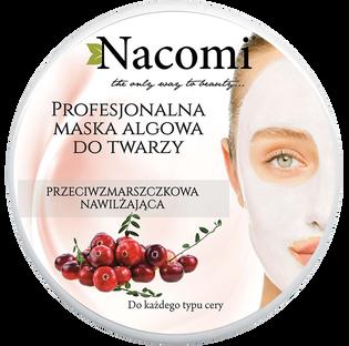 Nacomi_Professional_przeciwzmarszczkowa algowa maska do twarzy, 40 g