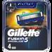 Gillette_Fusion5 ProGlide_wkłady do maszynki do golenia, 4 szt./1 opak_1