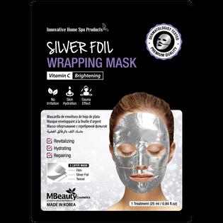 Mbeauty_Silver Foil_rozświetlająca maska na srebrnej folii z witaminą C, 25 ml