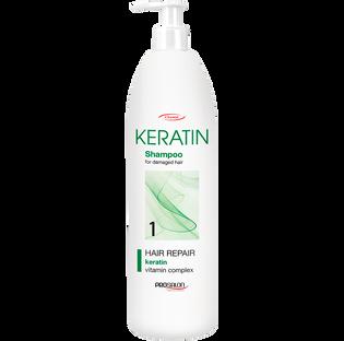 Prosalon_Keratin_wzmacniający szampon do włosów, 1000 ml