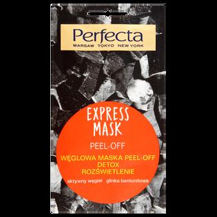 Perfecta_Beauty_węglowa maska peel-off detox rozświetlenie, 8 ml