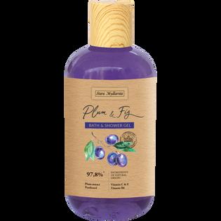 Stara Mydlarnia_Plum & Fig_odświeżający żel pod prysznic i do kąpieli, 250 ml