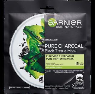 Garnier_Pure Charcoal_maska do twarzy w płacie, 32 g