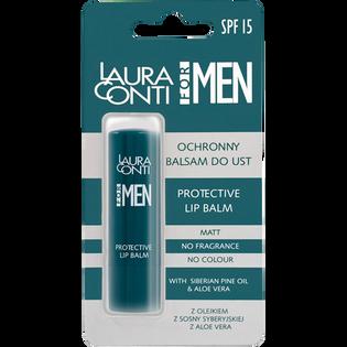 Laura Conti_For Men_balsam ochronny do ust dla mężczyzn, 11 g