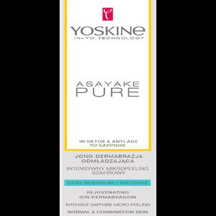 Yoskine_Asayake Pure_intensywny mikropeeling szafirowy do twarzy do cery normalnej i mieszanej, 75 ml_2