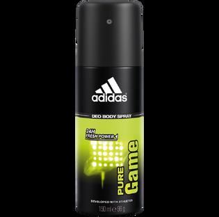 Adidas_Pure Game_dezodorant męski w sprayu, 150 ml